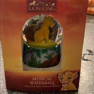 Disney snow globe in box